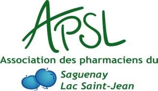 Logo Association des Pharmaciens du Saguenay Lac St-Jean (APSL)